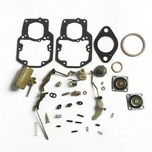 Autolite 1100 1101 Carburetor Rebuild Repair Kit Fits Automatic And Manual Choke