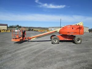 Jlg 400s 2007 Boom Lift Used 4x4 Diesel Approx 46 Work Height 36 x96 Basket