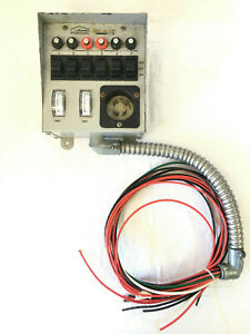 Reliance Home Protectors 30216b 6 Circuit Generator Load side Transfer Switch