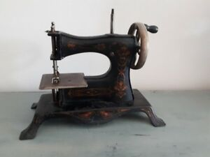 Toy Sewing Machine 1920 S Model 25 Casige Germany Miniature Child S