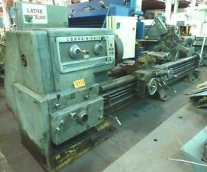 37 X 120 Lodge Shipley Lathe 29 Ocs 8 1016 Rpm 40 Hp 30178