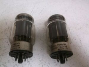 Lot Of 2 Tung sol 6336a Vacuum Tube 8 Pin used