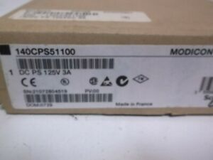 Schneider Modicon 140cps51100 Dc Ps 125v 3a Factory Sealed