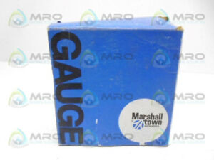 Marshall Town G10167 Pressure Guage new In Box
