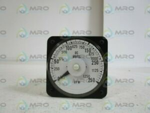General Electric Panel Meter 0 250 125 1250 103111fazz New No Box