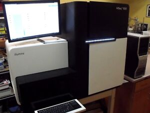 Illumina Hiseq Laboratory Dna Genome Sequencer Analyzer Dell Server Pc Software