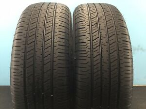 Set Of 2 Used Tires 80 Life P225 65r17 102h Hankook Dynapro Ht 2256517