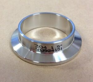 1 5 Tri Clamp Sanitary Weld Ferrule T304 Stainless Polished Id od New