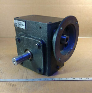 1 Used Worldwide Electric Corp Hdrf262 40 1 de 56c Speed Reducer 40 1