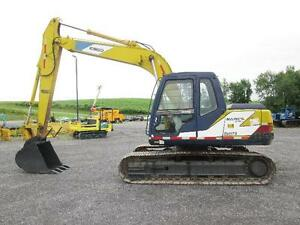 Kobelco Sk120lc Mark 3 Excavator Used Steel Tracks Cab Heat Turbo Diesel