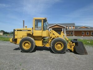 Volvo L70d Used Wheel Loader Quick Couple Bucket And Forks Cab Ac