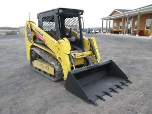 Yanmar T175 Used Skid Steer Loader Track Loader Diesel Rubber Tracks