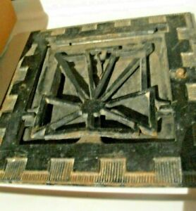 Heat Air Grate Wall Register 8 X 8 Wall Opening Vintage Works Art Deco