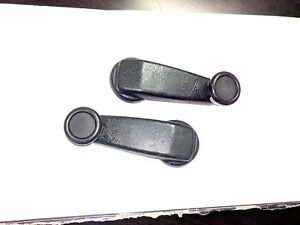 Bmw E21 320i 320is Front Window Crank Handles Manual Windows Very Good Cond