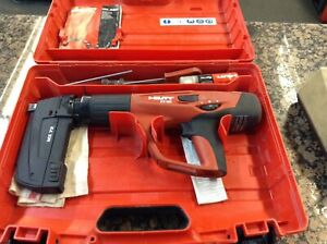 Hilti Dx460 Automatic Powder Actuated Nail Gun Fastener