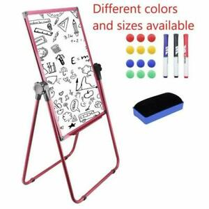 Magnetic Easel Dry Erase Board Portable U Stand Whiteboard Height Adjustable New