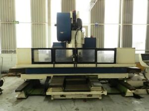 1999 Big Cnc Vmc Sharnoa Machining Center 104 x32 x30 6 000 Rpm Video