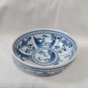 Chinese Blue And White Porcelain Bowl 1 5