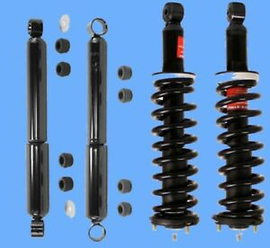 Complete Suspension Kit Monroe Shocks Coil Springs Mounts For Tacoma 95 04