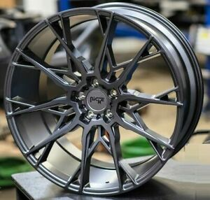 4 New 22 Staggered Rims Wheels For 2010 2011 2012 Camaro Ls Lt Rs Ss Only 5748