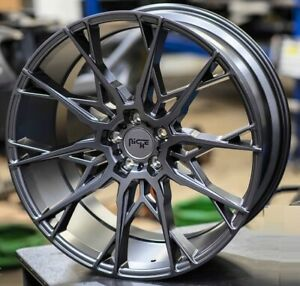 4 New 19 Staggered Rims Wheels For 2010 2011 2012 Camaro Ls Lt Rs Ss Only 5746