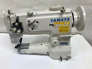 Yamata Fy1341 Cylinder bed Unison feed Machine With Table stand And Servo Motor