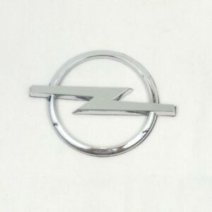 Opel Silver Chrome Emblem Badge Logo With Sticker 130mm X 100mm