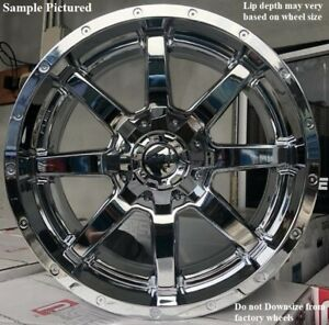 4 New 20 Wheels Rims For Ford F 250 2015 2016 2017 2018 Super Duty 3981