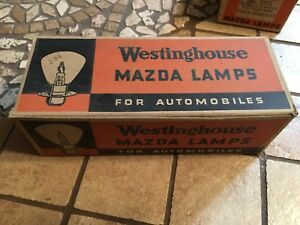 Nos Box Auto Super Head Lamp Head Car Light Bulbs Westinghouse 2330 6 8v 32 32cp