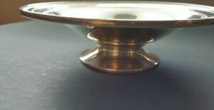 Antique Sterling Silver Candy Or Nut Dish Or Bowl On Pedestal Edgeworth 1933