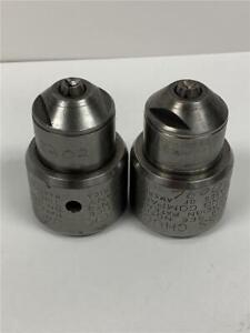 2pc Vintage Jacobs 610 61 Keyless Impacting Special Chuck 1 4 Capacity 1 2 20