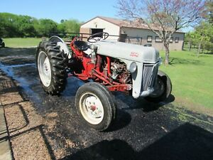 Ford 8n Tractor With Implements