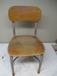 Old Heywood Wakefield Child S School Chair