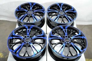 17 Blue Wheels Fits Honda Civic Accord Toyota Prius Matrix Corolla Celica Rims