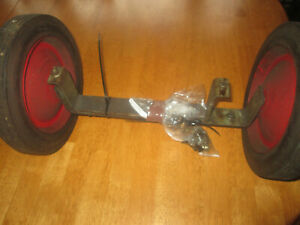 Speedaire Compressor Wheels Axle