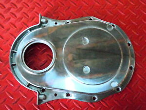 Timing Chain Cover Big Block Chevrolet Aluminum Bbc 396 427 454 Gen 4 Iv 65 Up