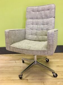 Knoll Executive Office Desk Chair By Vincent Cafiero Mid Century Modern Mcm