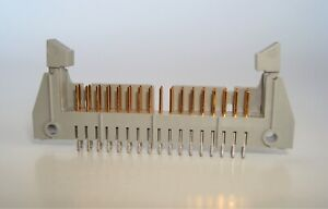 3m 3431 Gold Plated 2 54mm Straight 34 Pin Idc Header Connector ejectors 40pcs