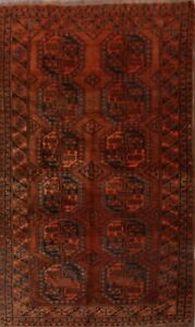 Antique Geometric Tribal 6x10 Balouch Afghan Oriental Area Rug 9 11 X 5 6
