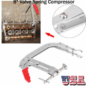 8 Valve Spring Compressor Engine Lifter Springs Retainer Valve Repair Tool Us