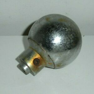 Vintage Heavy Steel Chrome Shifter Machine Knob As Found Condition