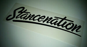 Stancenation Sticker Autocolant Styling Stance Nation Decal