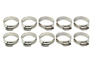 Samco Sport Hcb45 Stainless Worm Gear Hose Clamp 10 Pc 35 45 Mm