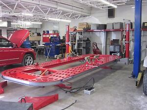 21 Foot Frame Machine For Trucks 20 Ton Hydraulics Goliath Chief Kansas