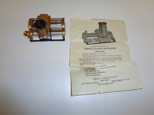 Antique Chas Lowinson s Thread Counting Micrometer 637