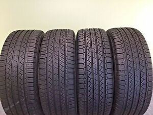 Set Of 4 Used Tires P245 60r18 104h Michelin Latitude Tour Hp 2456018