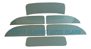1932 Ford Tudor Sedan Windows Classic Auto Glass Vintage Windows New Flat Window