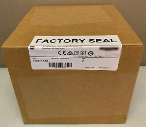 2017 New Sealed Allen Bradley 1756 pa72 c Controllogix Power Supply Guaranteed