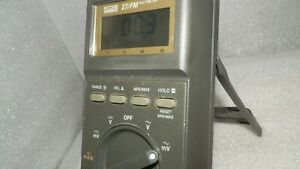 Digital Multimeter Fluke 27 Fm Dmm Nice Works Well Has New Leads