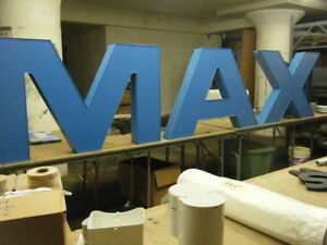 Led Sign Large Channel Letters For Movie Theater Or Retailer Imax